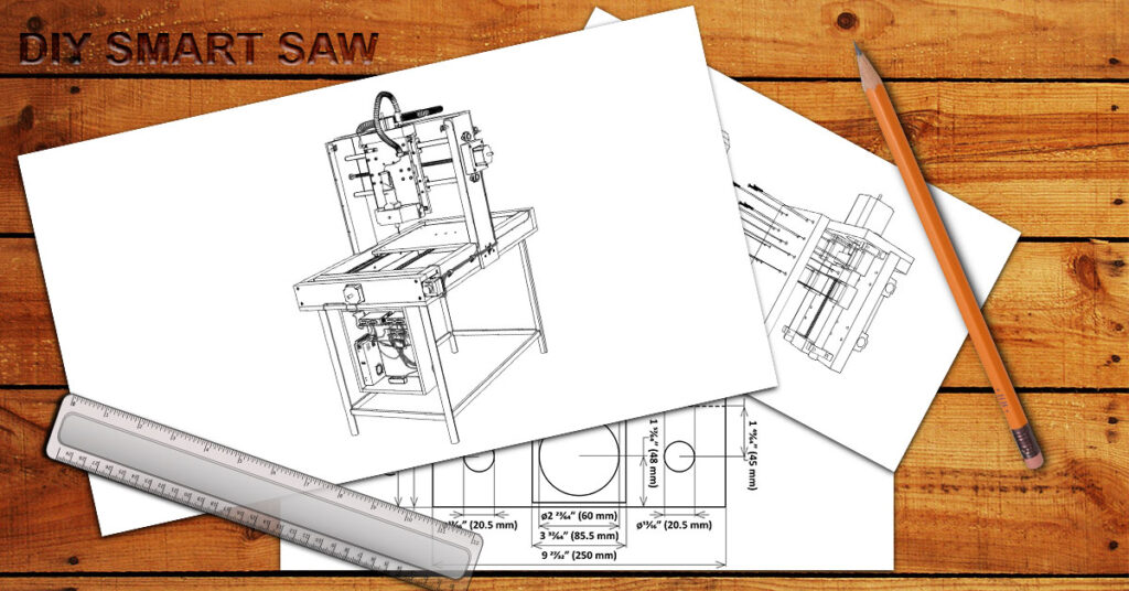 How To Build Your Own CNC Wood Carving Machine Router Using the DIY Smart Saw Program