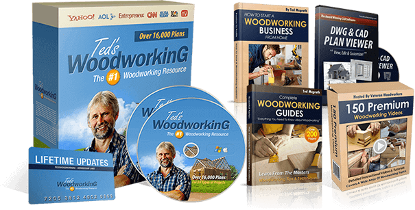 Ted's Woodworking Complete Package